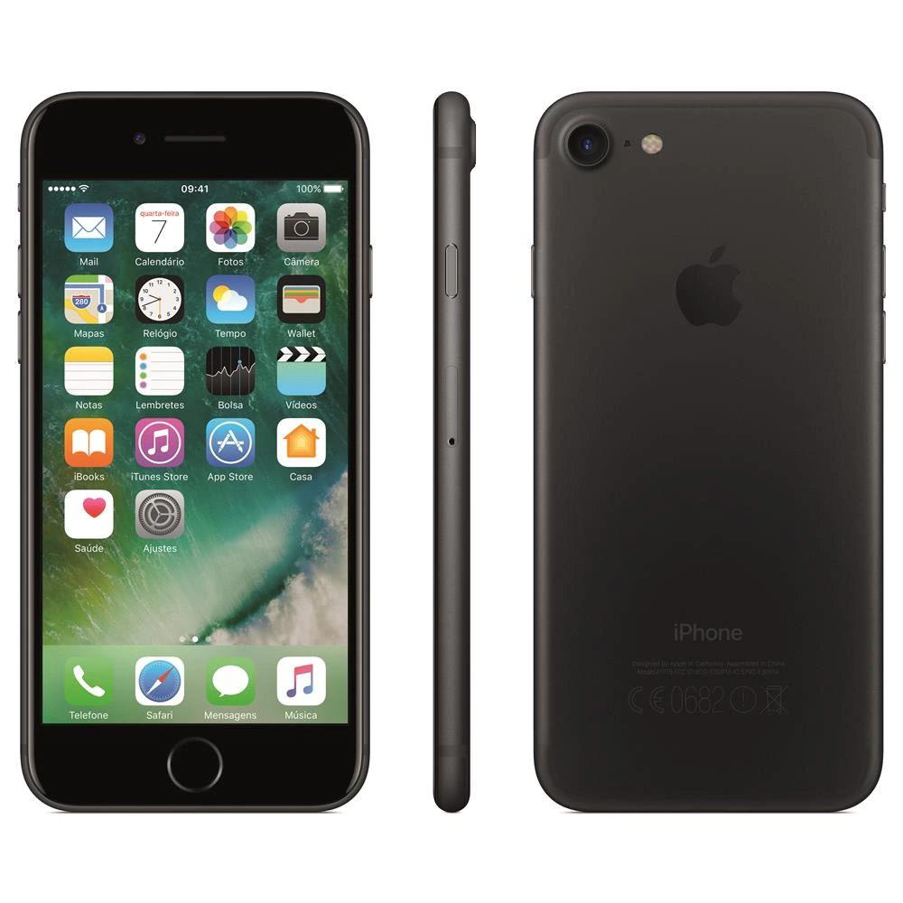"iPhone 7 Apple 32 GB RAM 2 GB iOS 13 Câmera 12 Mp Tela 4.7"" - Usado"