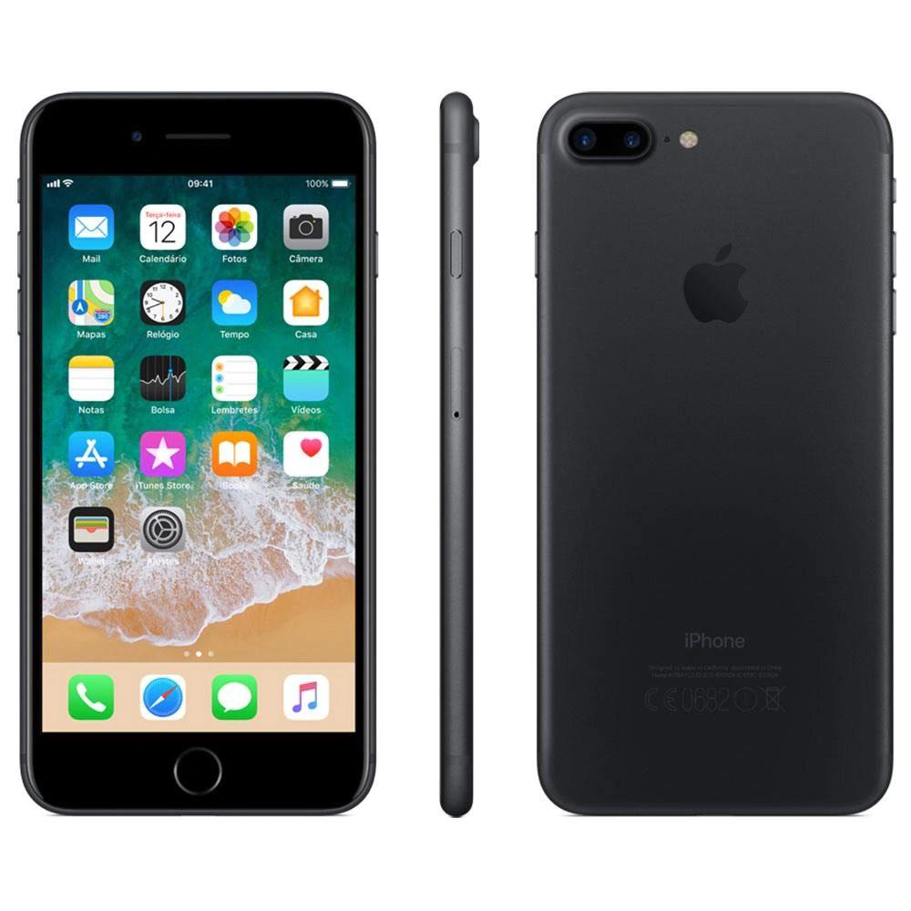 """iPhone 7 Plus Apple 32 GB RAM 3 GB iOS 13 Câmera 12 Mp Tela 5.5"""" - Usado"""