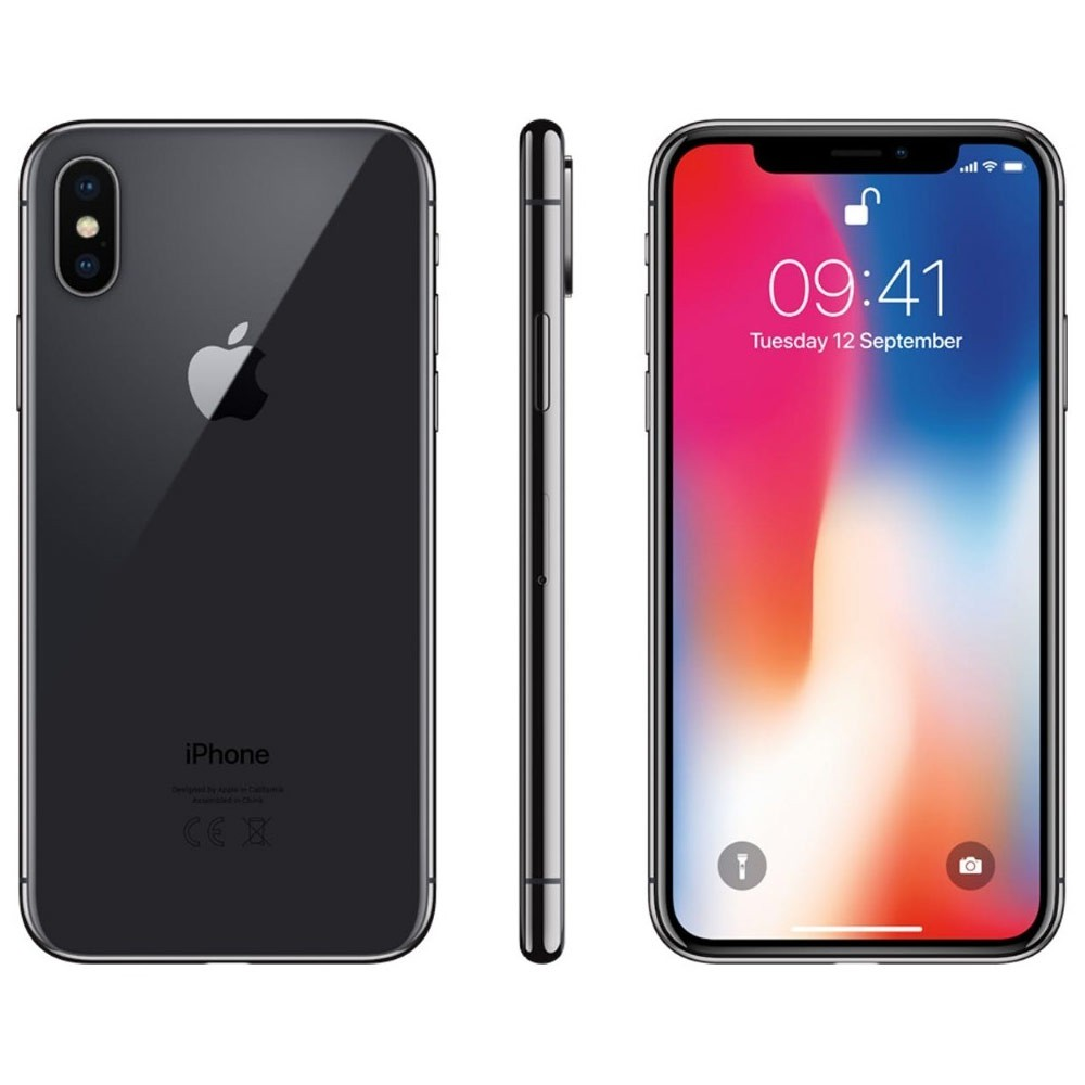 "iPhone X Apple 256 GB RAM 3 GB iOS 13 Câmera 12 Mp Tela 5.8"" - Usado"