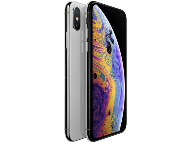 "iPhone XS Apple 64GB Prata - 5,8"" 12MP iOS"