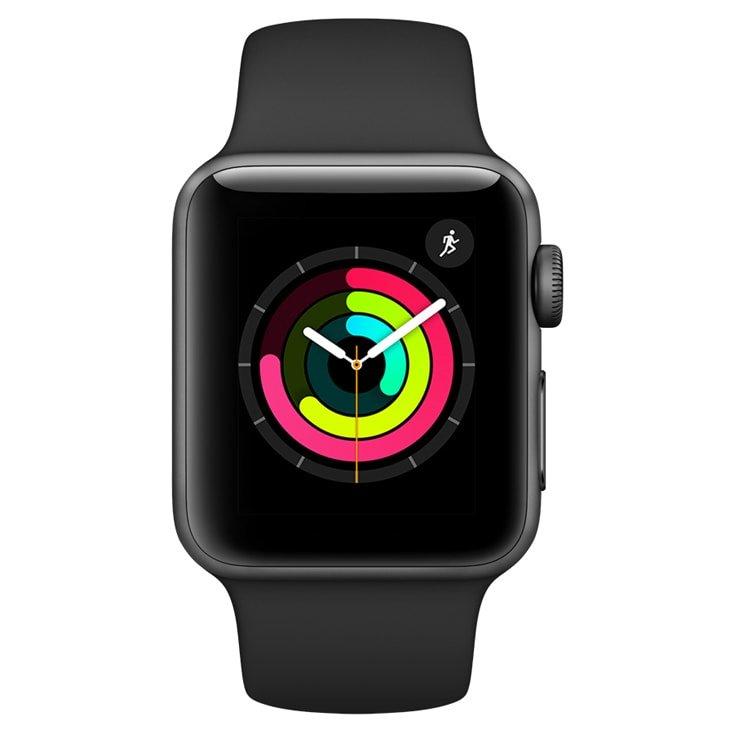 Relógio esportivo Apple Watch Series 3 com GPS 38mm - Usado
