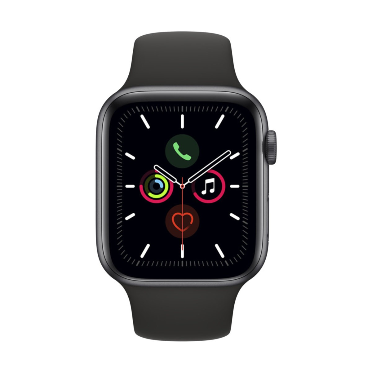 Relógio esportivo Apple Watch Series 5 com GPS + Celular  44mm - Usado