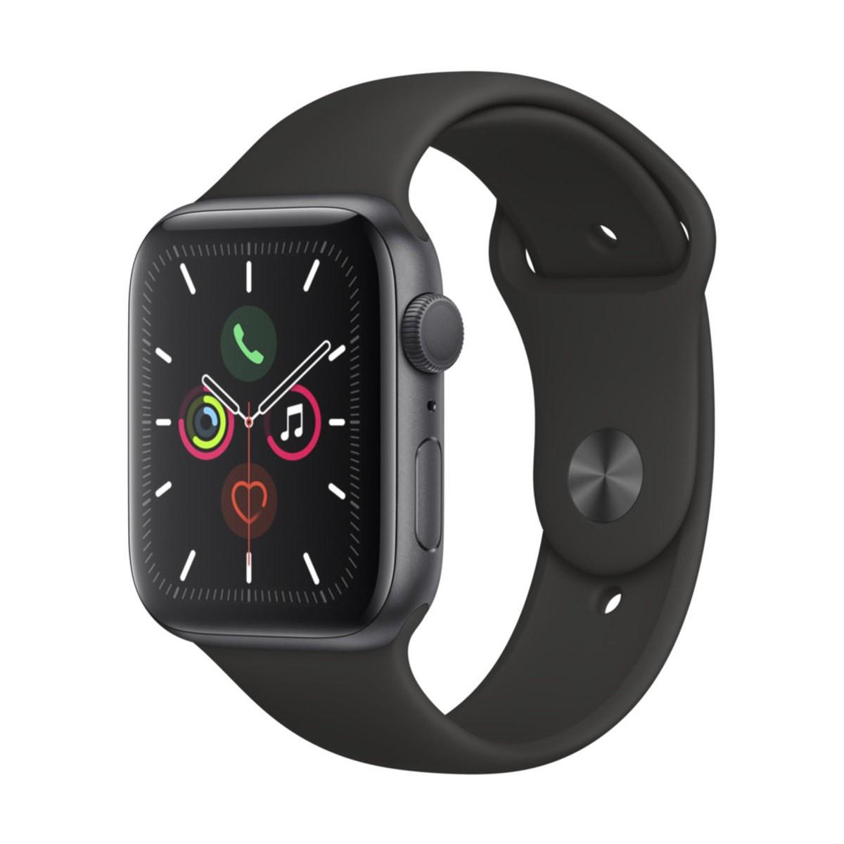 Relógio esportivo Apple Watch Series 5 com GPS + Celular  44mm - Usado