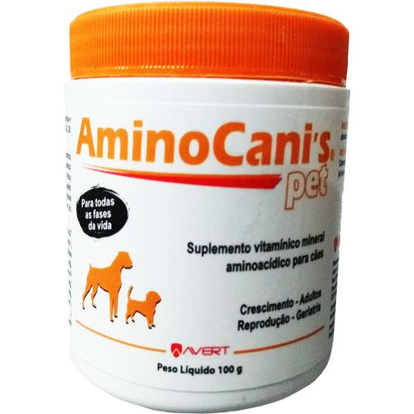 Aminocanis Pet 100g (em pó)