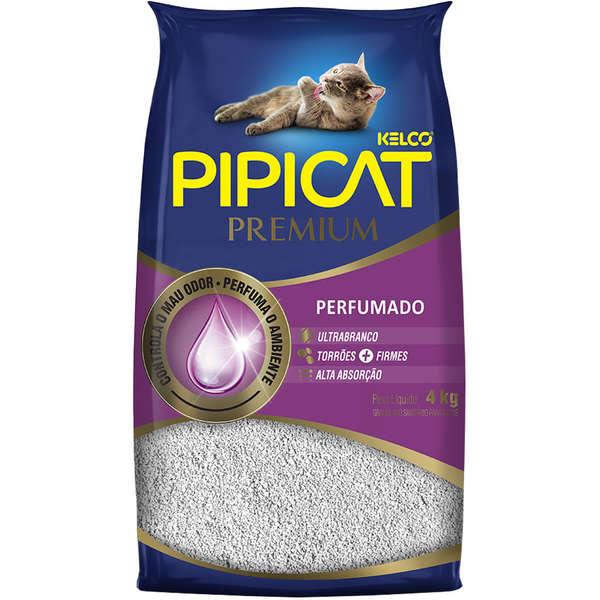 Areia Sanitária Pipicat Premium Perfumado