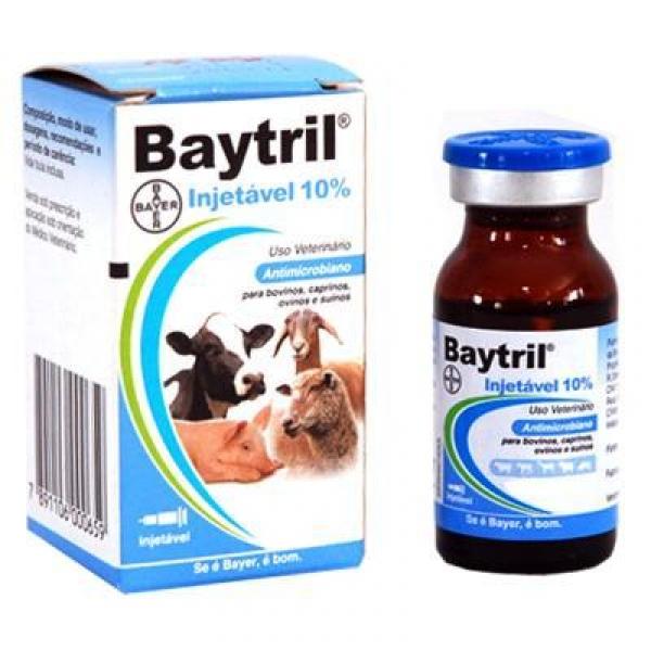 Baytril Injetável 10% 10ml