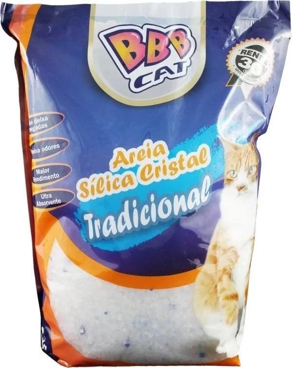 BBB Cat Areia Cristal Silica Tradicional