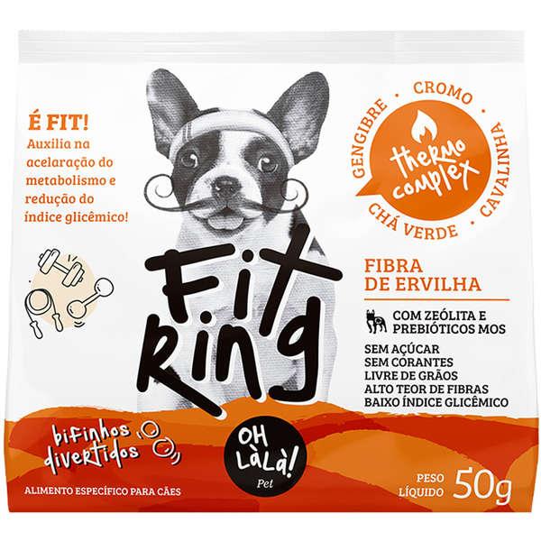 Bifinhos de Ovelha Oh LàLà Pet Fit Ring Fibra de Ovelha