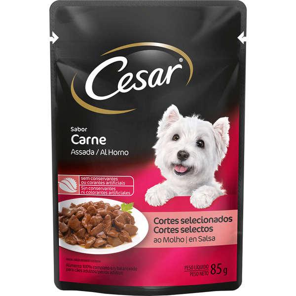 Cesar Sachê Cão Adulto Carne