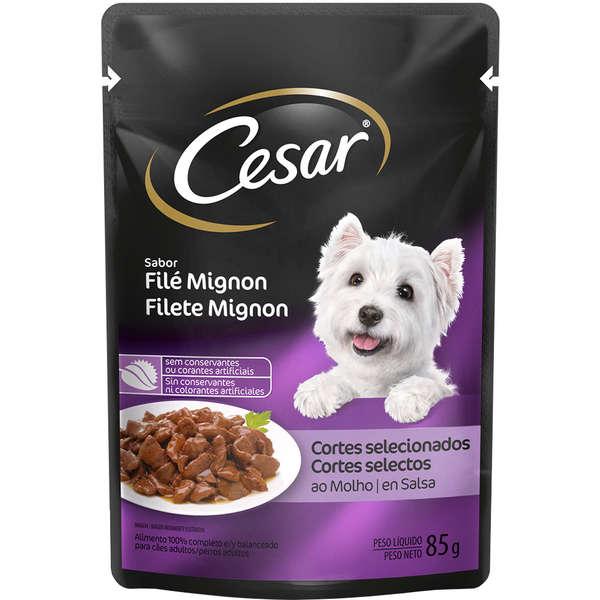 Cesar Sachê Cão Adulto File Mignon