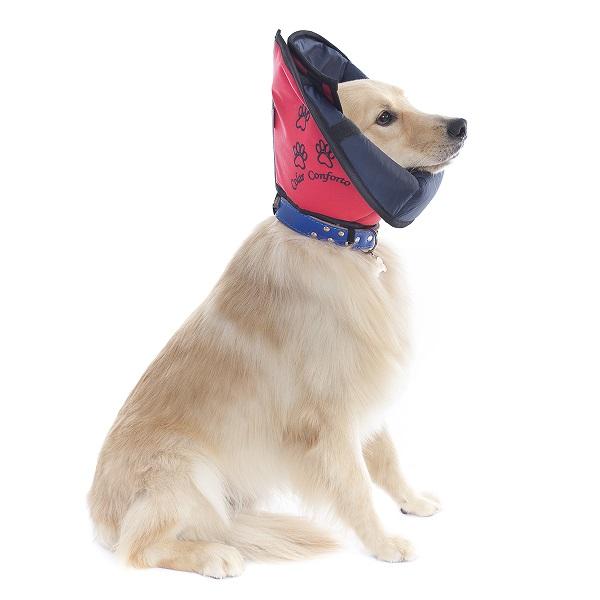 Colar Elizabetano de Tecido Conforto Pet Med