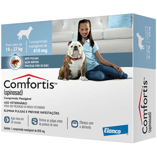Comfortis (cães 18kg a 27kg) - 810mg