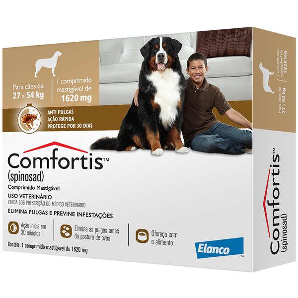 Comfortis (cães 27kg a 54kg) - 1620mg