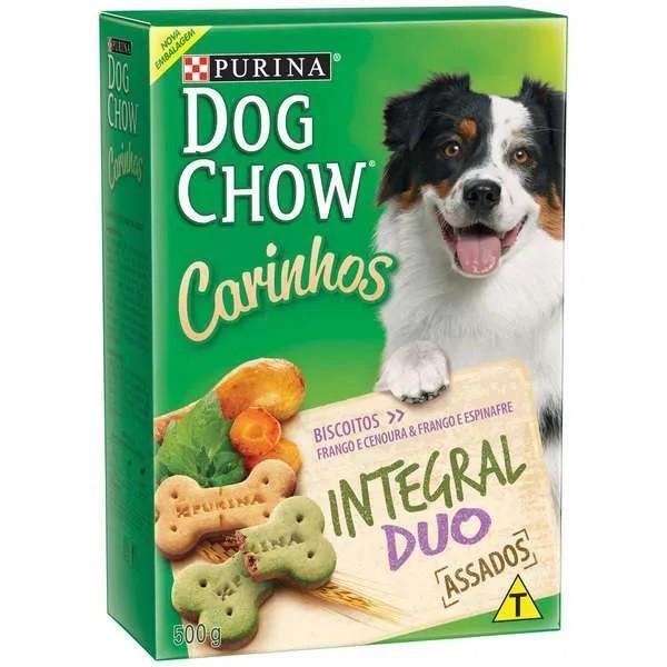 Dog Chow Carinhos Biscoito Integral Duo