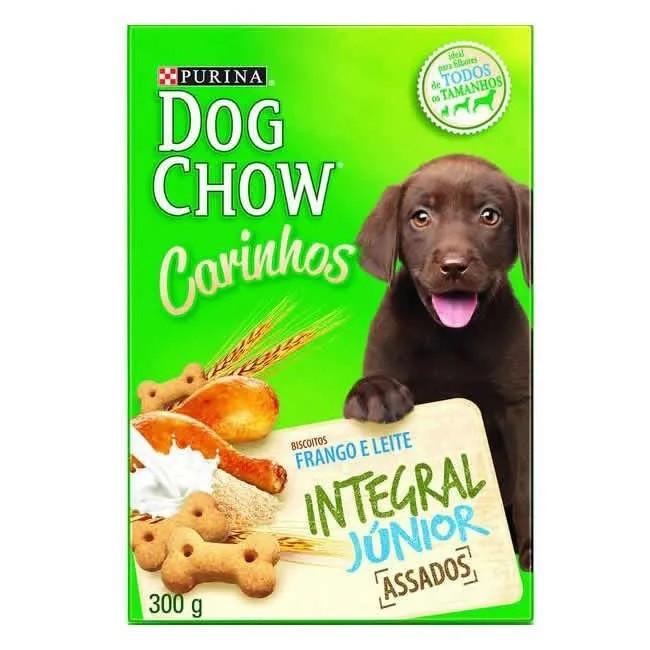 Dog Chow Carinhos Biscoito Integral Júnior - 300g