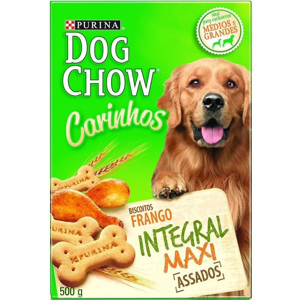 Dog Chow Carinhos Biscoito Integral Maxi Frango