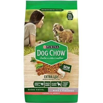 Dog Chow Filhote Raças Pequenas Carne e Arroz