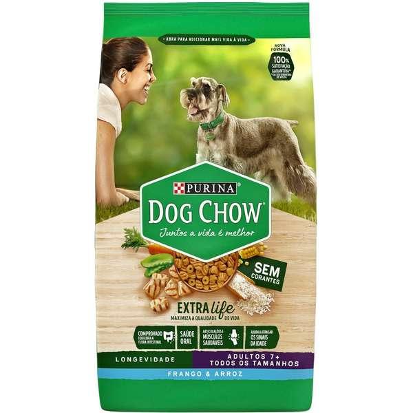 Dog Chow Longividade +7 anos