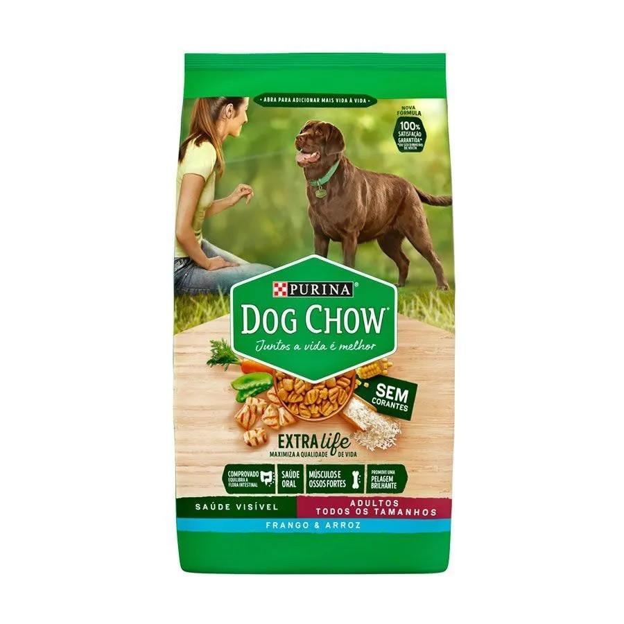 Dog Chow Raças Pequenas Adultos Frango e Arroz
