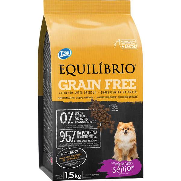 Equilíbrio Cão Mini Mature Grain Free