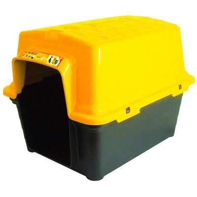 Furacão Pet Casinha de Plástico- Amarelo