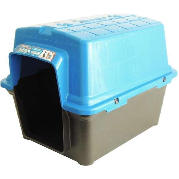 Furacão Pet Casinha de Plástico- Azul