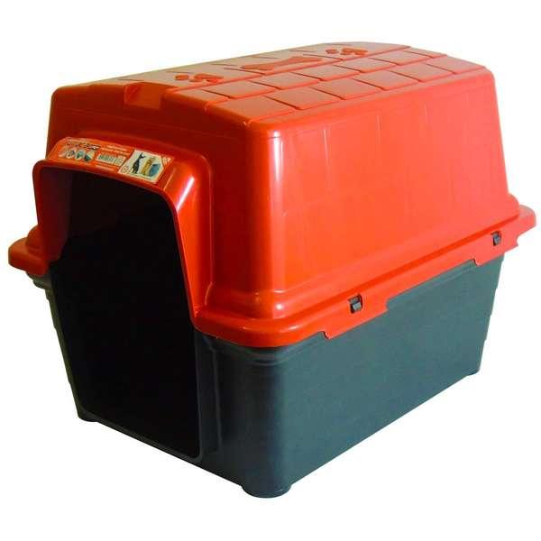Furacão Pet Casinha de Plástico- Vermelho