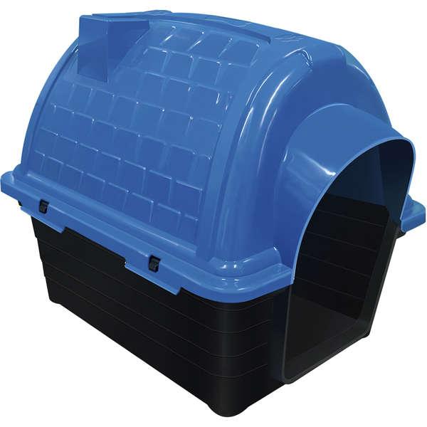 Furacão Pet Casinha Iglu de Plástico- Azul