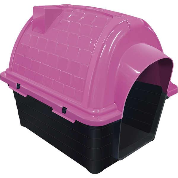Furacão Pet Casinha Iglu de Plástico- Rosa
