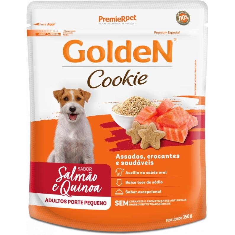 Golden Cookie Cão Adulto Raça Pequena Salmão