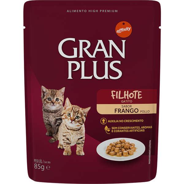 Gran Plus Sachê Gato Filhote Frango