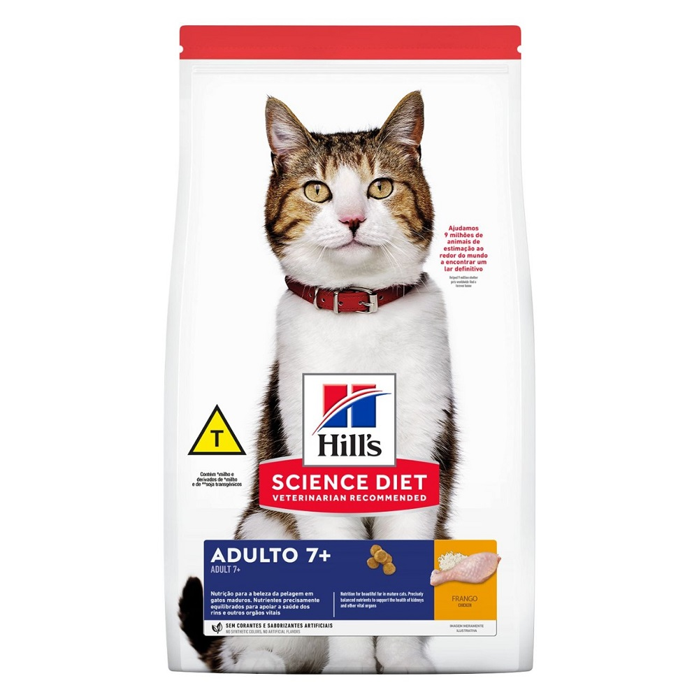 Hills Gato Adulto 7+