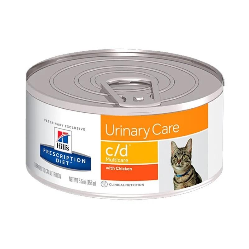 Hills Prescription Diet Lata C/D Feline Cuidado Urinário