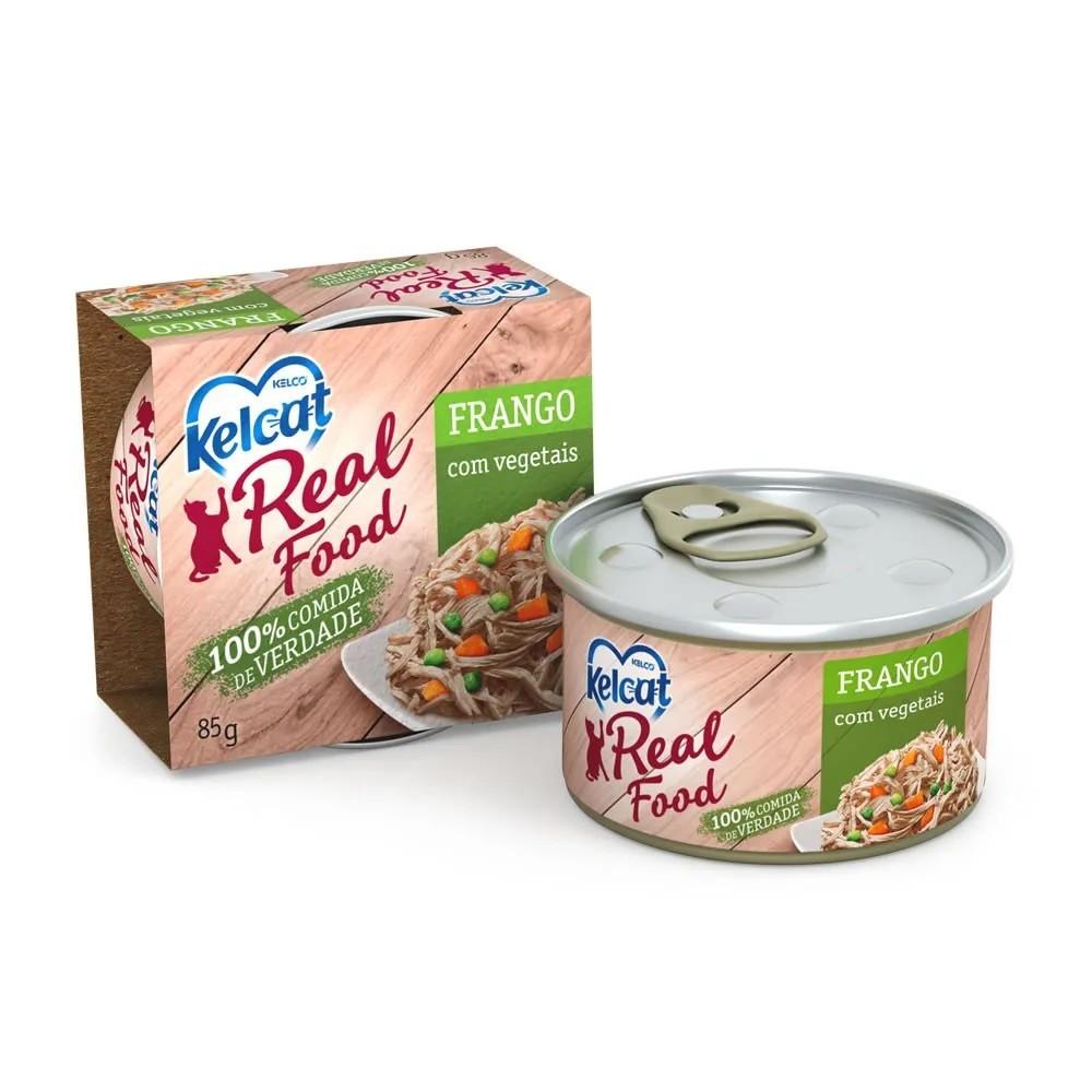 Kelcat Real Food Frango com Vegetais