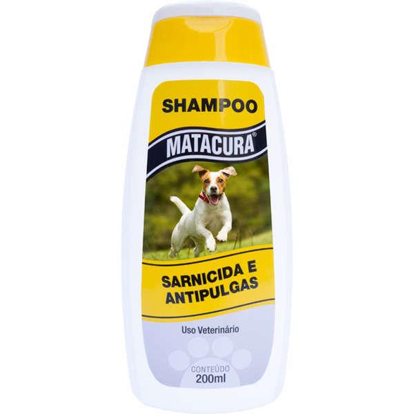 Matacura Shampoo Sarnicida e Antipulgas