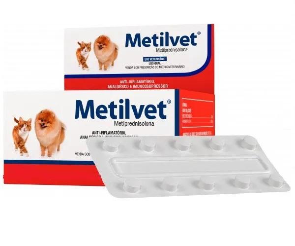 Metilvet 10 comprimidos