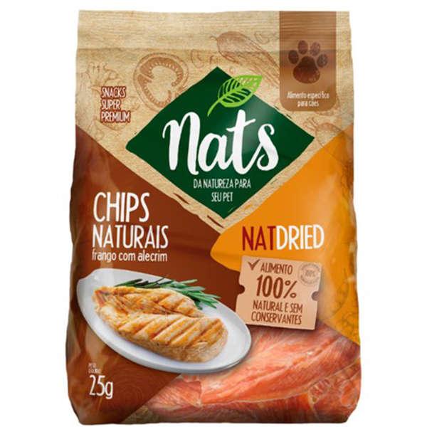 Nats Chips Naturais Frango e Alecrim