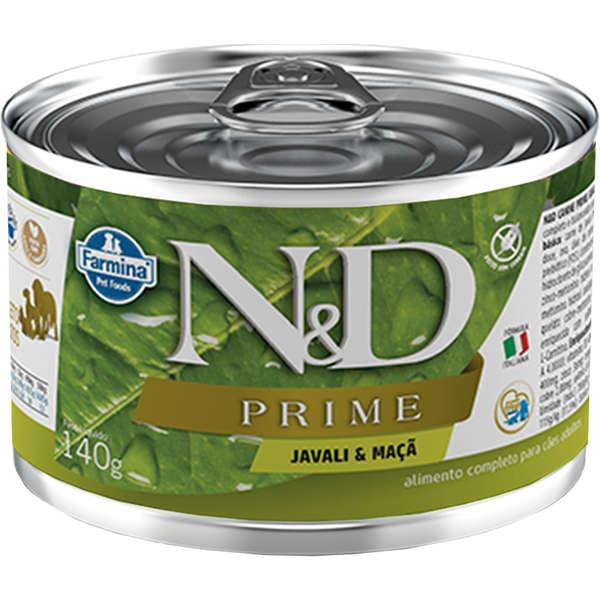 N&D Lata Prime Cão Adulto Javali