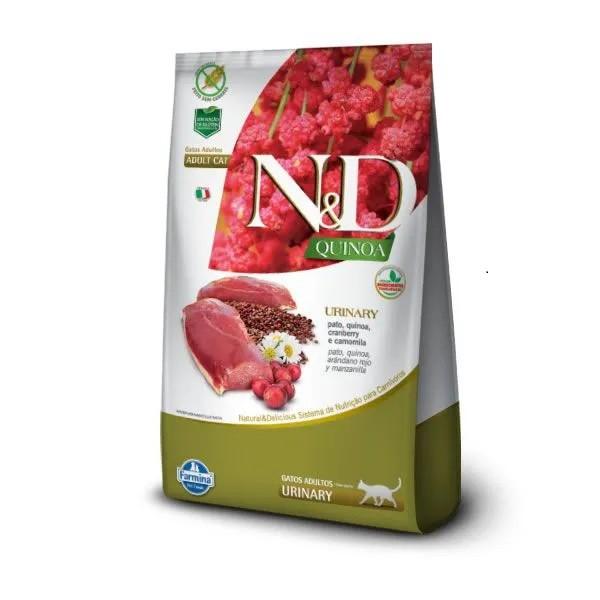 N&D Quinoa Gatos Adultos Urinary Pato