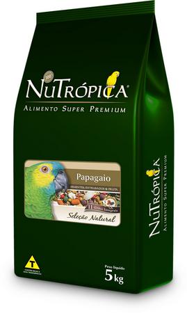 Nutrópica Papagaio Seleção Natural