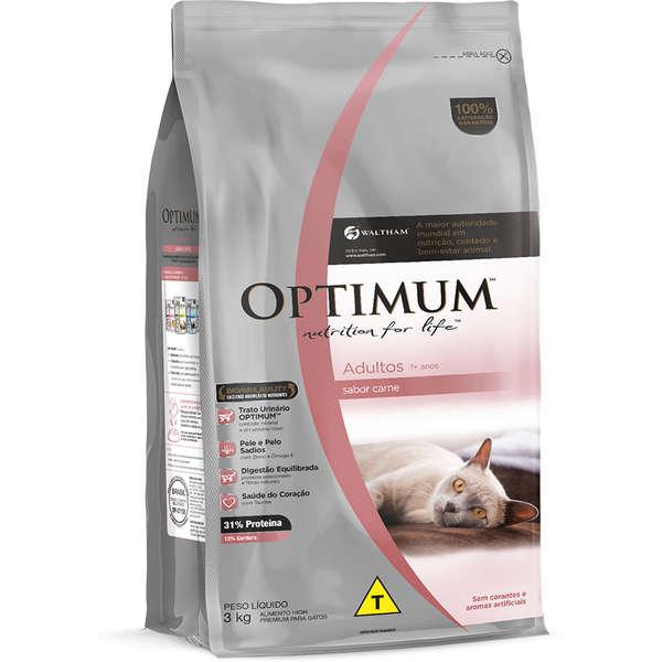 Optimum Gato Adulto Carne