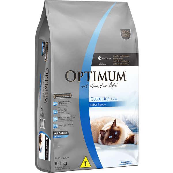 Optimum Gato Castrado Frango