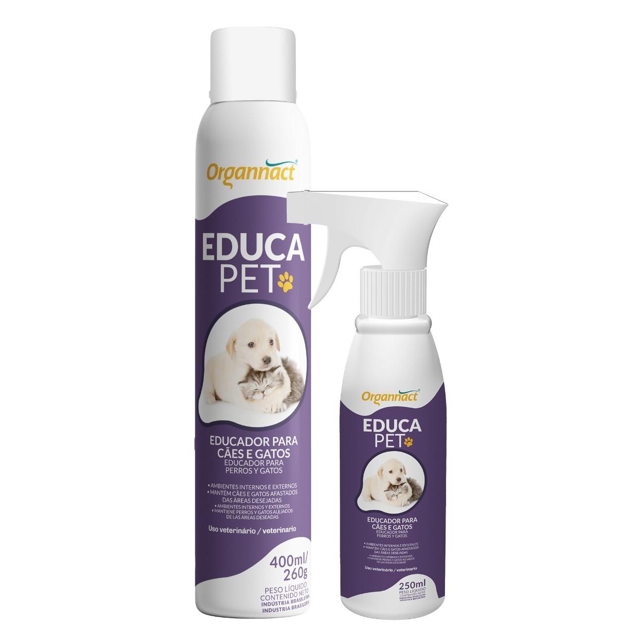 Organnact Educa Pet Eduacador Sanitário