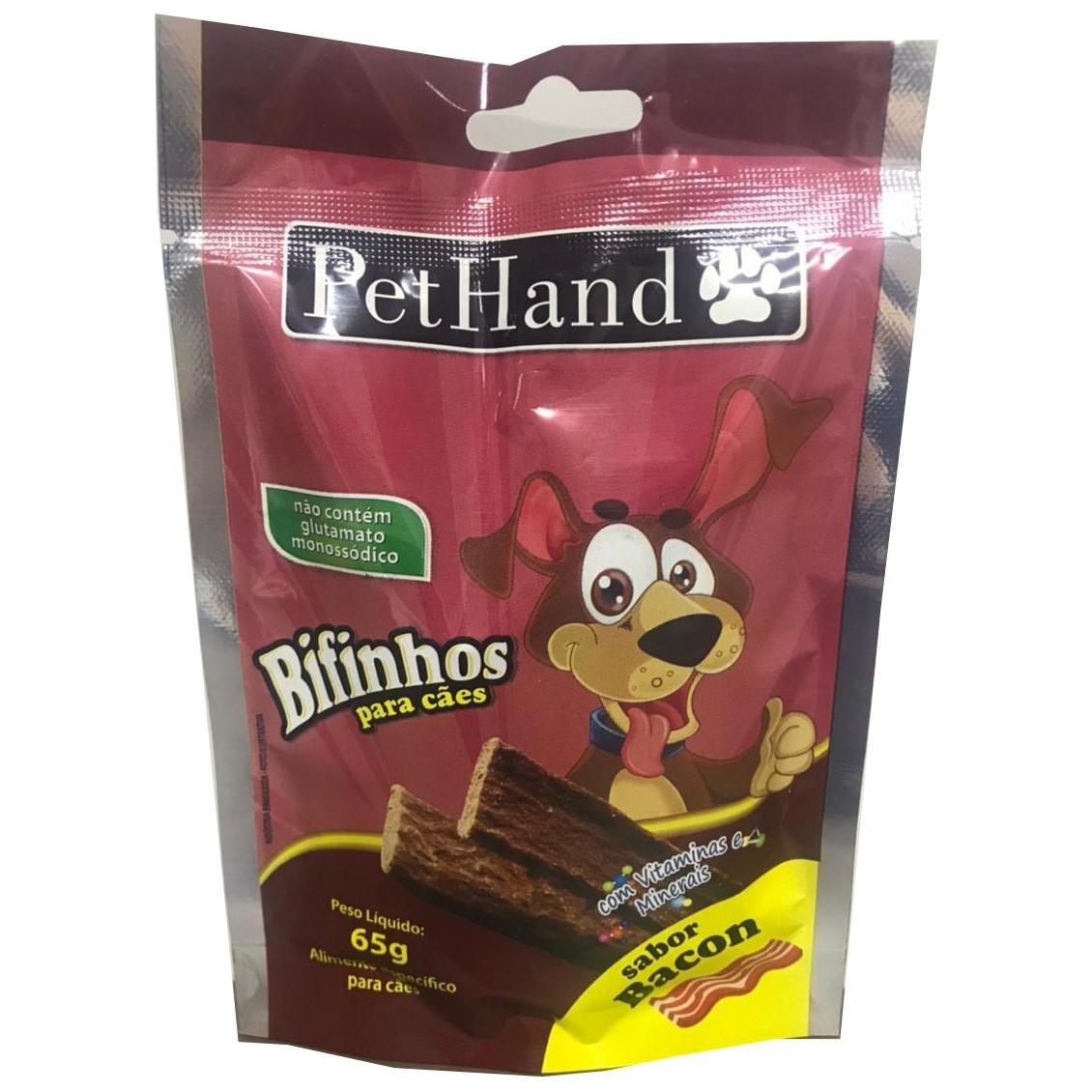 PetHand Cães Bifinho Bacon