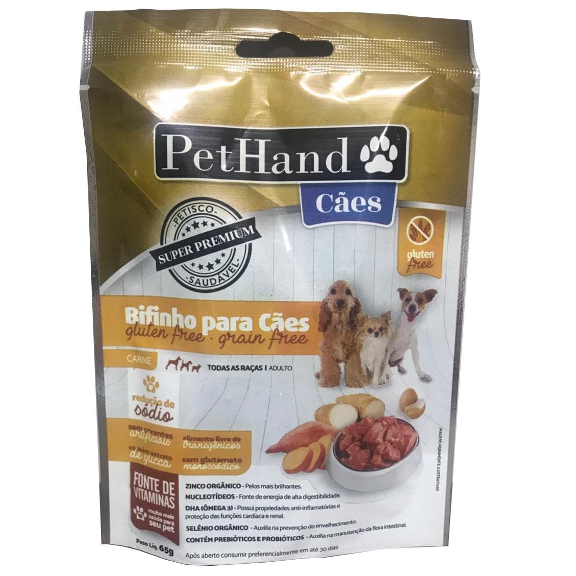 PetHand Cães Bifinho Super Premium Gluten Free Carne