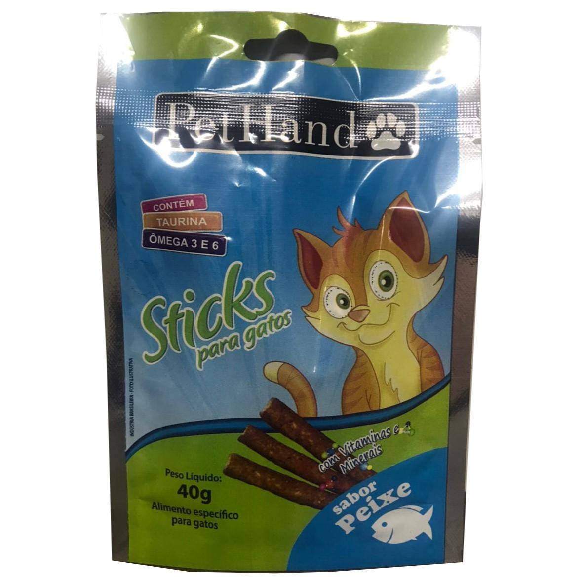 PetHand Gatos Sticks Peixe