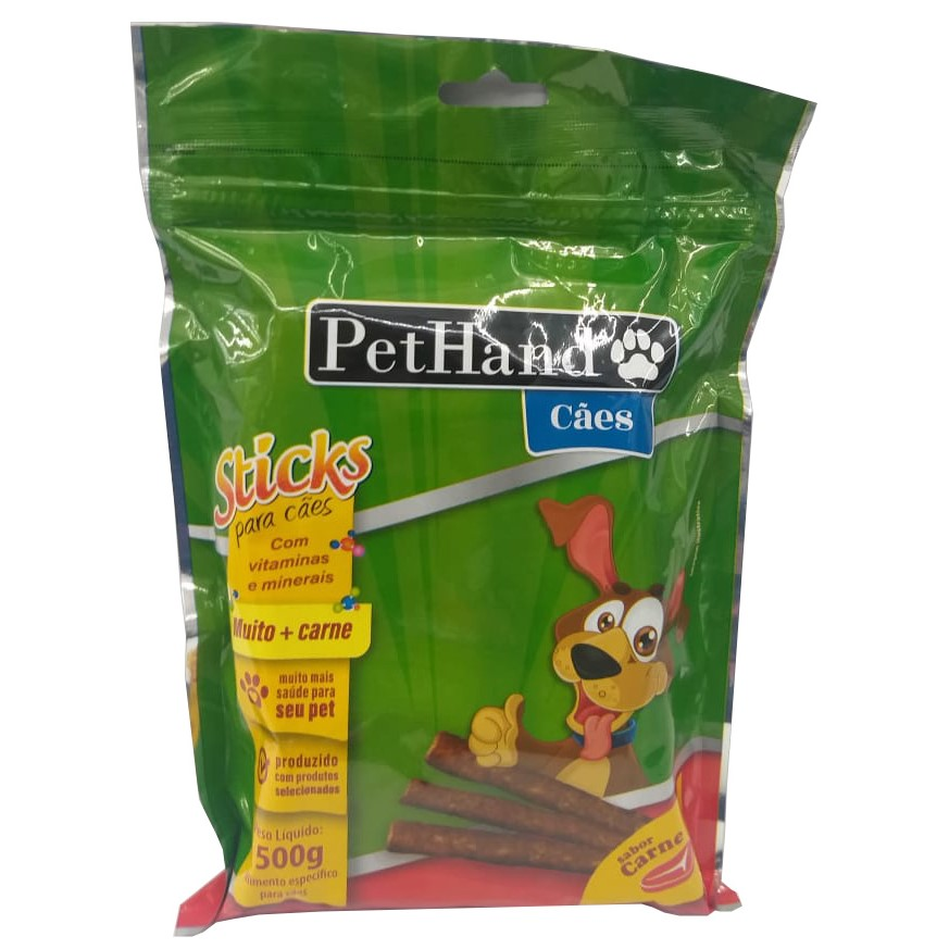 PetHand Cães Sticks Carne