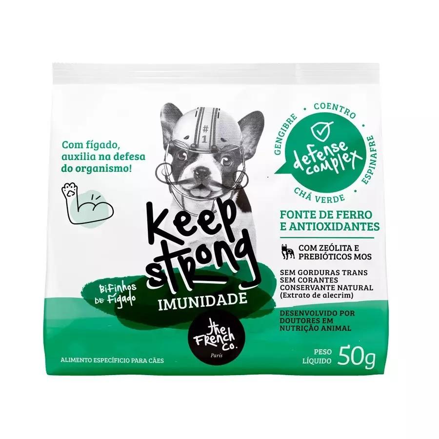 Petisco Keep Strong Imunidade para cães 50g