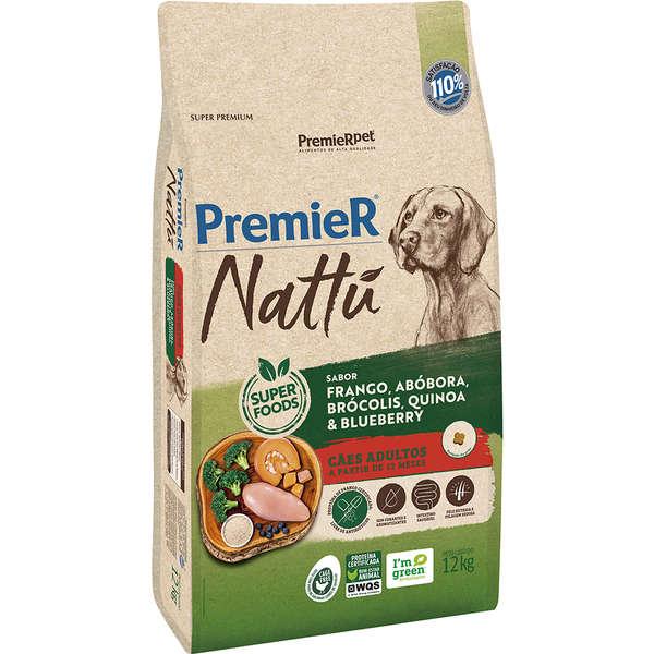 Premier Nattu Cão Adulto Abobora