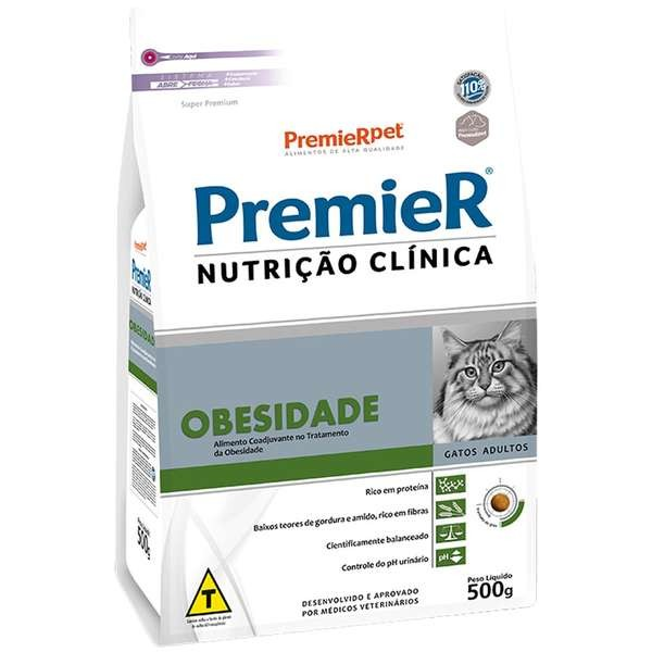 Premier Nutrição Clínica Feline Obesidade